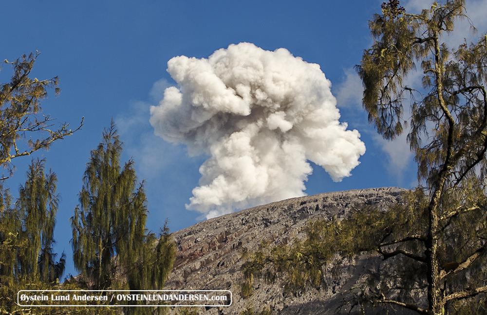 Semeru volcano July 2015 Eruption