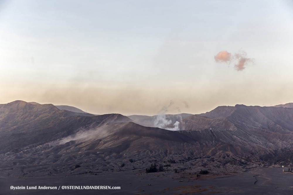 Bromo October 2015 Indonesia Volcano Volcanoes Java
