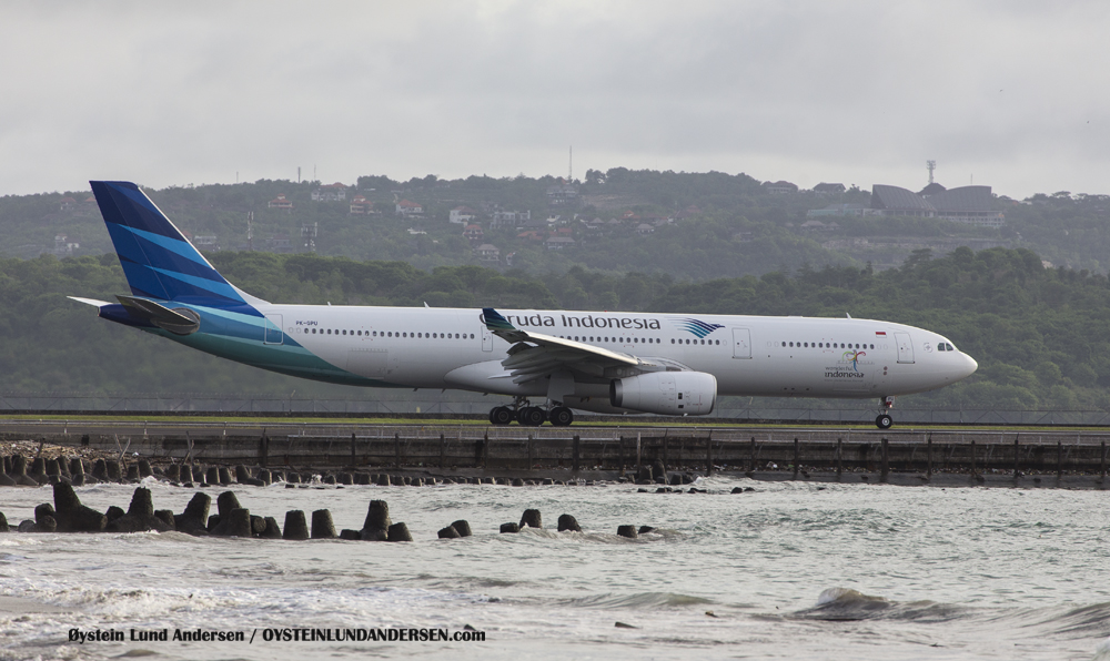 Airbus 330-300 taxing to departure. (29 December 2014)