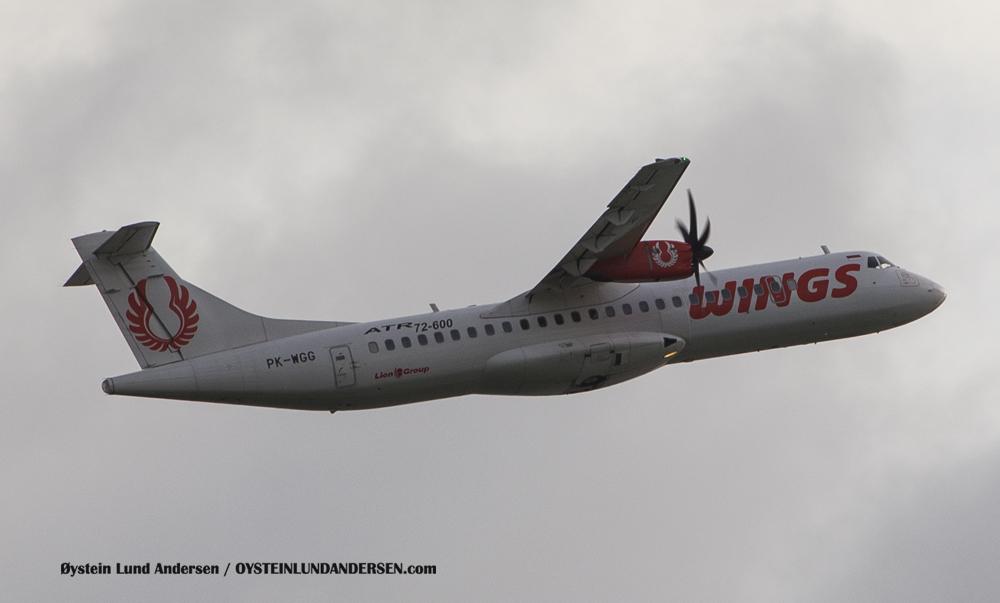 Wings Air ATR-72-600 (29 December 2014)