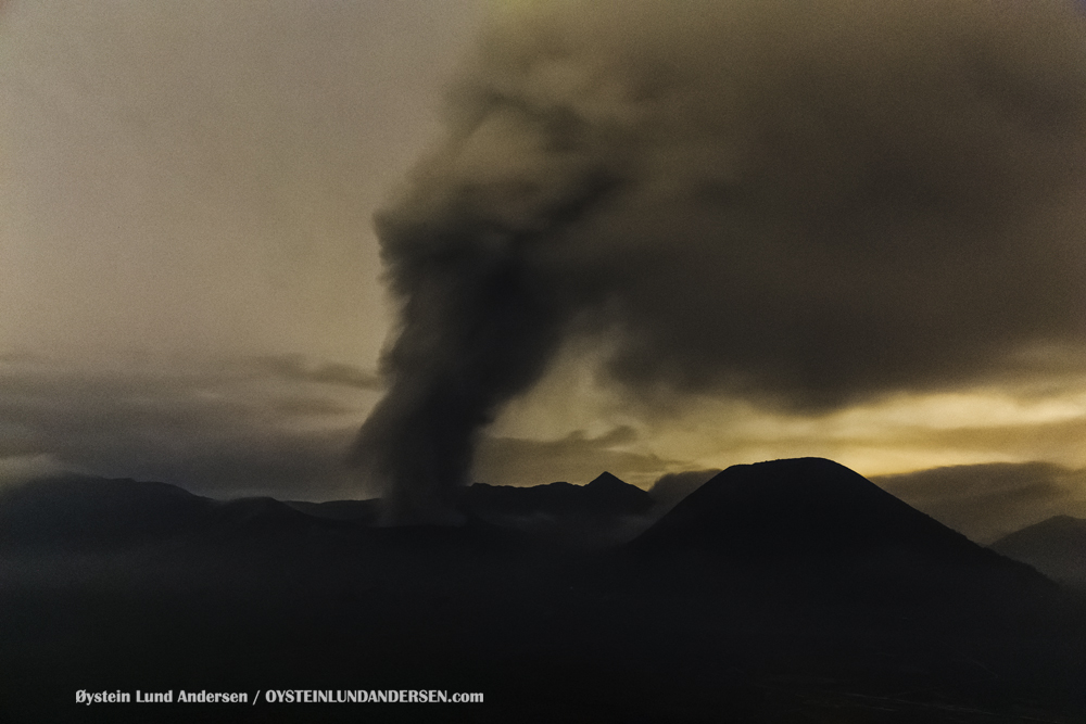 Bromo Eruption 2015 Indonesia Java ash-plume