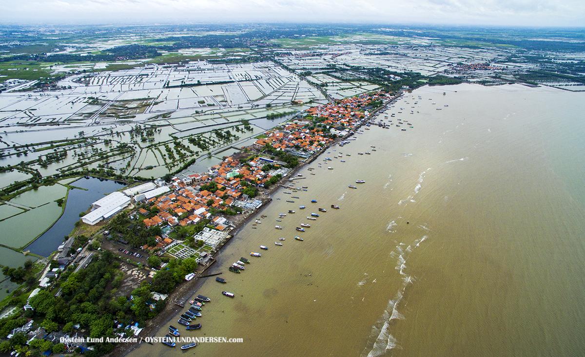 Tangerang Jakarta Tanjung Pasir DJI 2017 beach pantai coast aerial