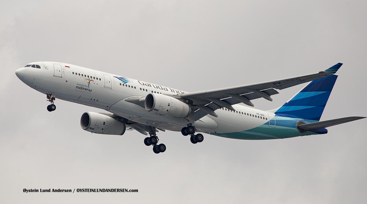 Garuda Indonesia - Airbus 330-200 (PK-GPQ) Jakarta Indonesia