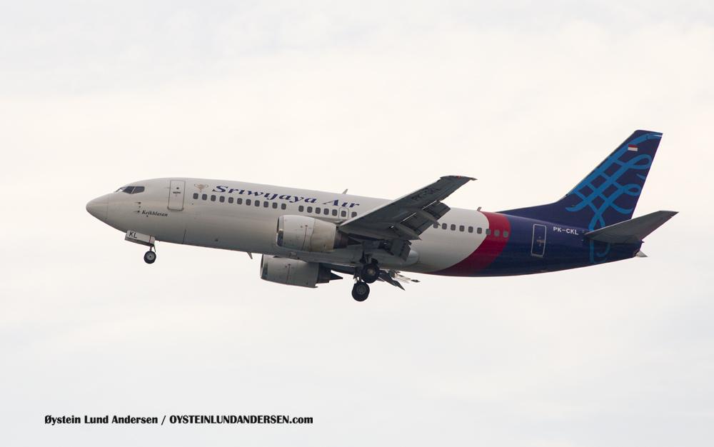 Sriwijaya Boeing 737-300 (PK-CKL) (15th February 2016)
