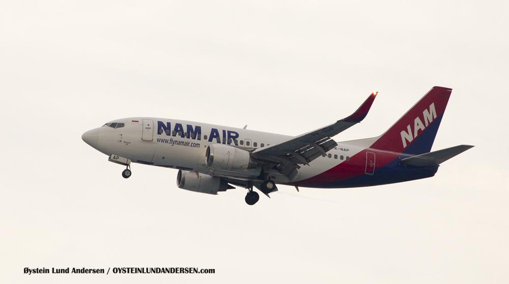 Nam Air Boeing 737-500 (PK-NAP) (15th February 2016)