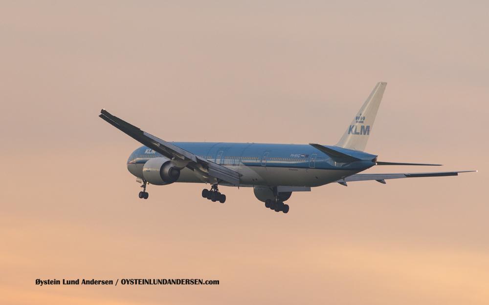 KLM Boeing 777-300ER (PH-BVG) (15th February 2016)