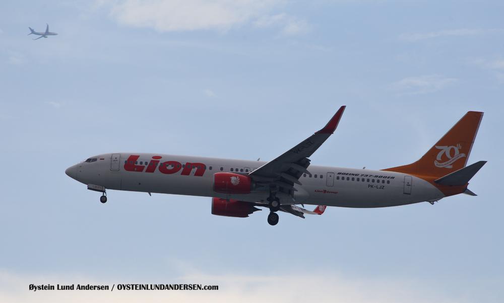 Lion Boeing 737-900ER (PK-LJZ) (15th February 2016)