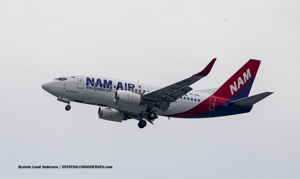 NAM Air (PK-NAL) Boeing 737-500 Jakarta Airport Sukarno Hatta