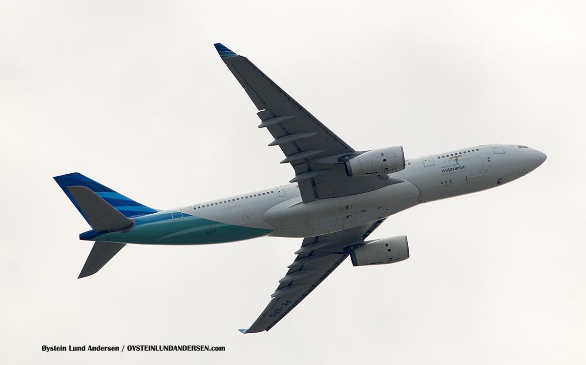 Garuda Indonesia (PK-GPG) Airbus 330-300 Jakarta Airport Sukarno Hatta