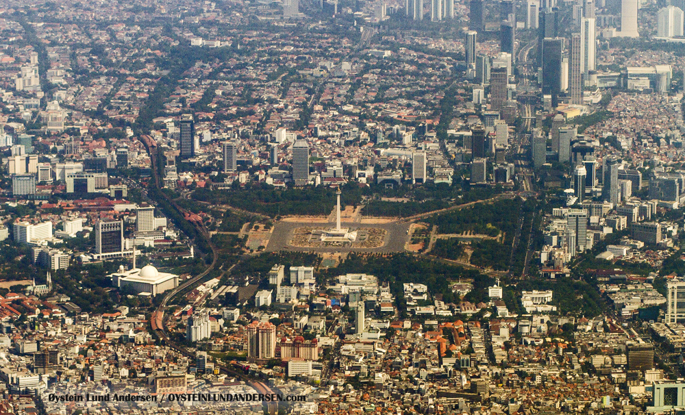 Jakarta, Indonesia, Capitol City, Photography, Aerial