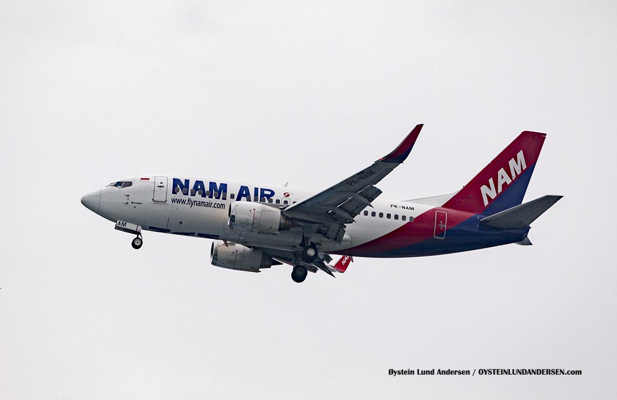 Jakarta Indonesia NAM Air - Boeing 737-500 (PK-NAM, named Bersinar)