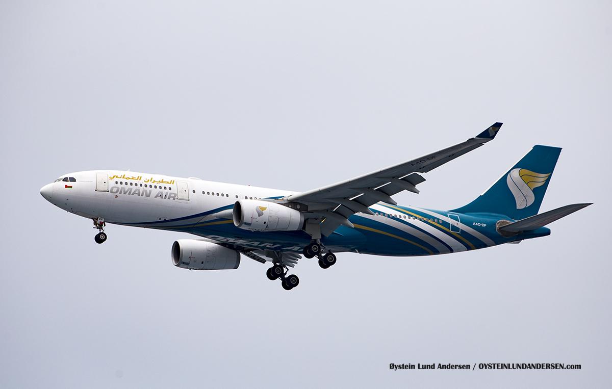 Jakarta Indonesia Oman Air - Airbus 330-200 (A4O-DF)