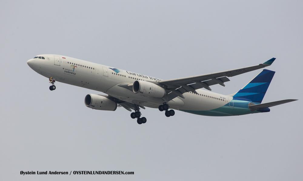 Garuda Airbus 330-300 (6 December 2015)