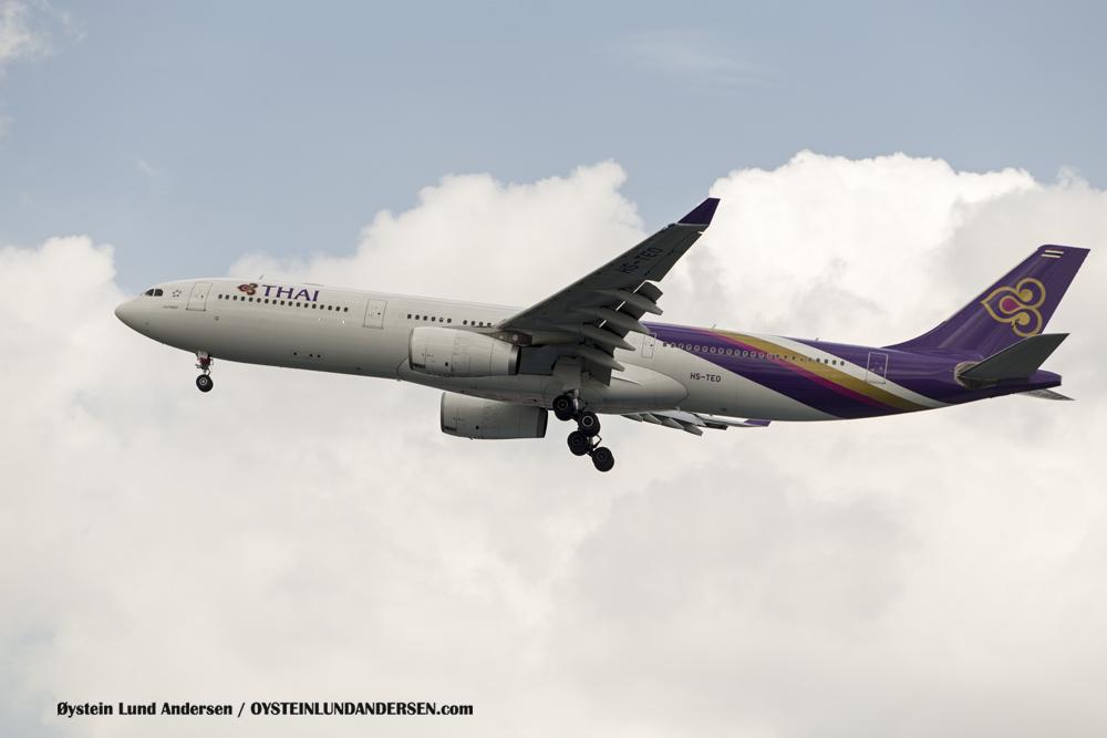 Thai Airways Airbus 330-300 HS-TEO