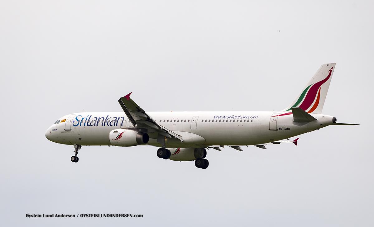 Jakarta Indonesia Sri Lankan Airlines - Airbus 321-200 (4R-ABQ)