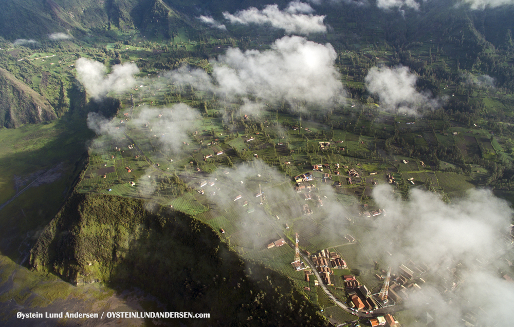 Bromo Eruption February 2016 volcano Indonesia Dji Phantom Aerial photography