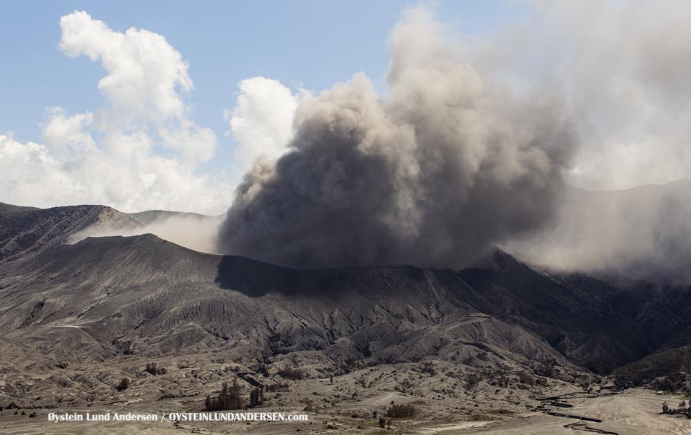 Bromo Volcano Eruption 2016 February 2016 Indonesia