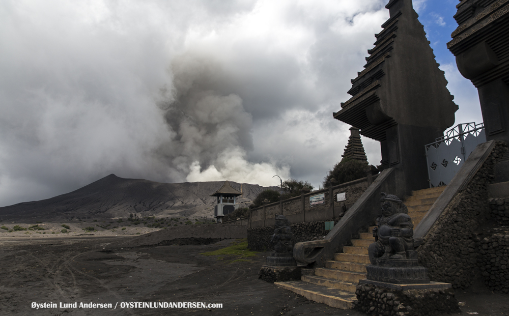 Bromo Tengger Indonesia Eruption Volcano April 2016