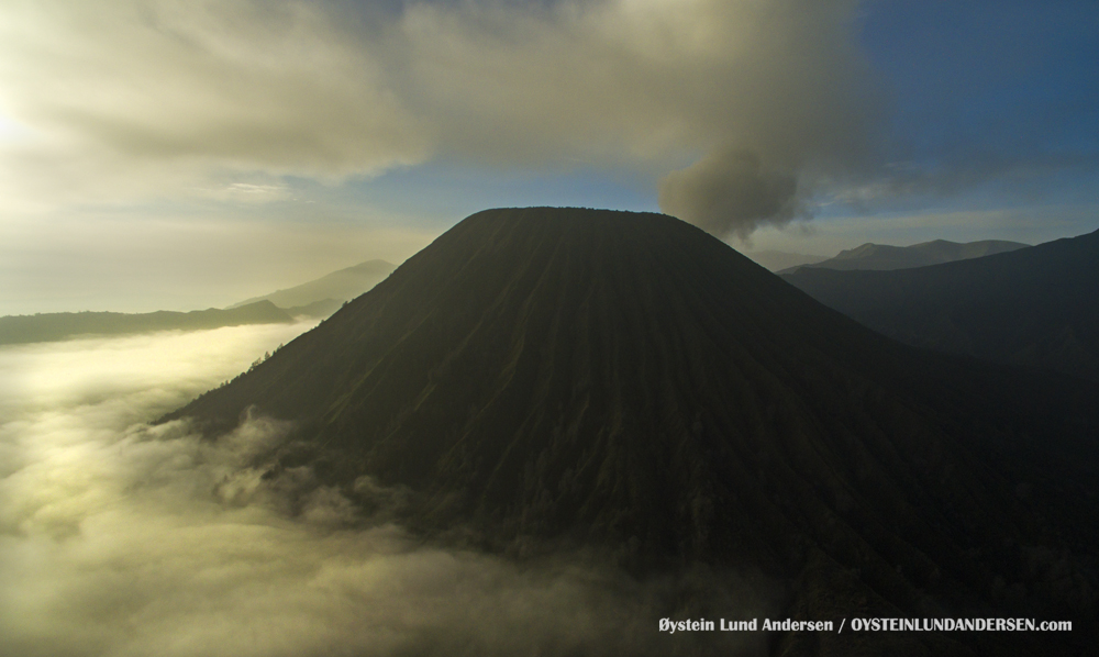 Batok Bromo Tengger Indonesia Eruption Volcano April 2016