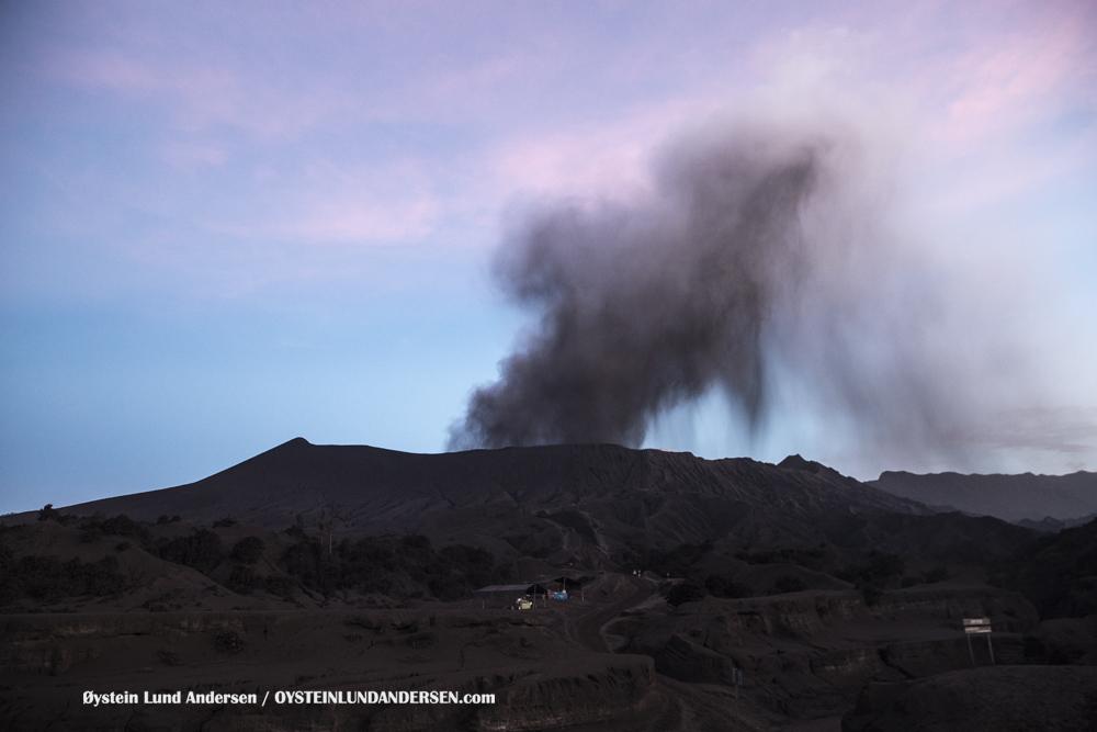 Bromo Eruption 2016 Tengger Indonesia Eruption Volcano June 2016