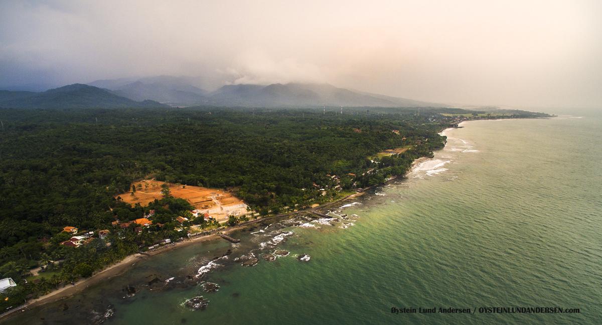 Anyer West Java Indonesia Carita Gunung Karang Pandeglang