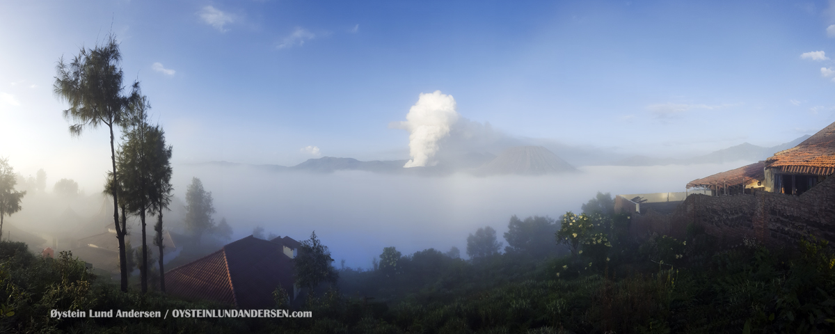 Bromo Tengger Java Indonesia august 2016 Volcano Geology Oystein Andersen