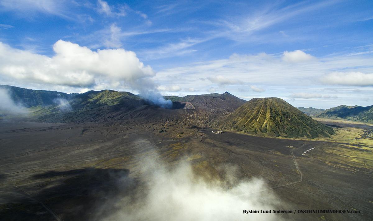 Bromo Tengger Volcano Indonesia Eruption September-2016