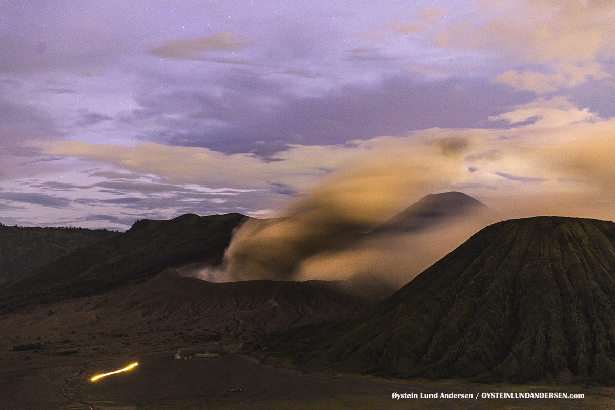 Bromo Tengger Volcano Eruption October 2016 Indonesia