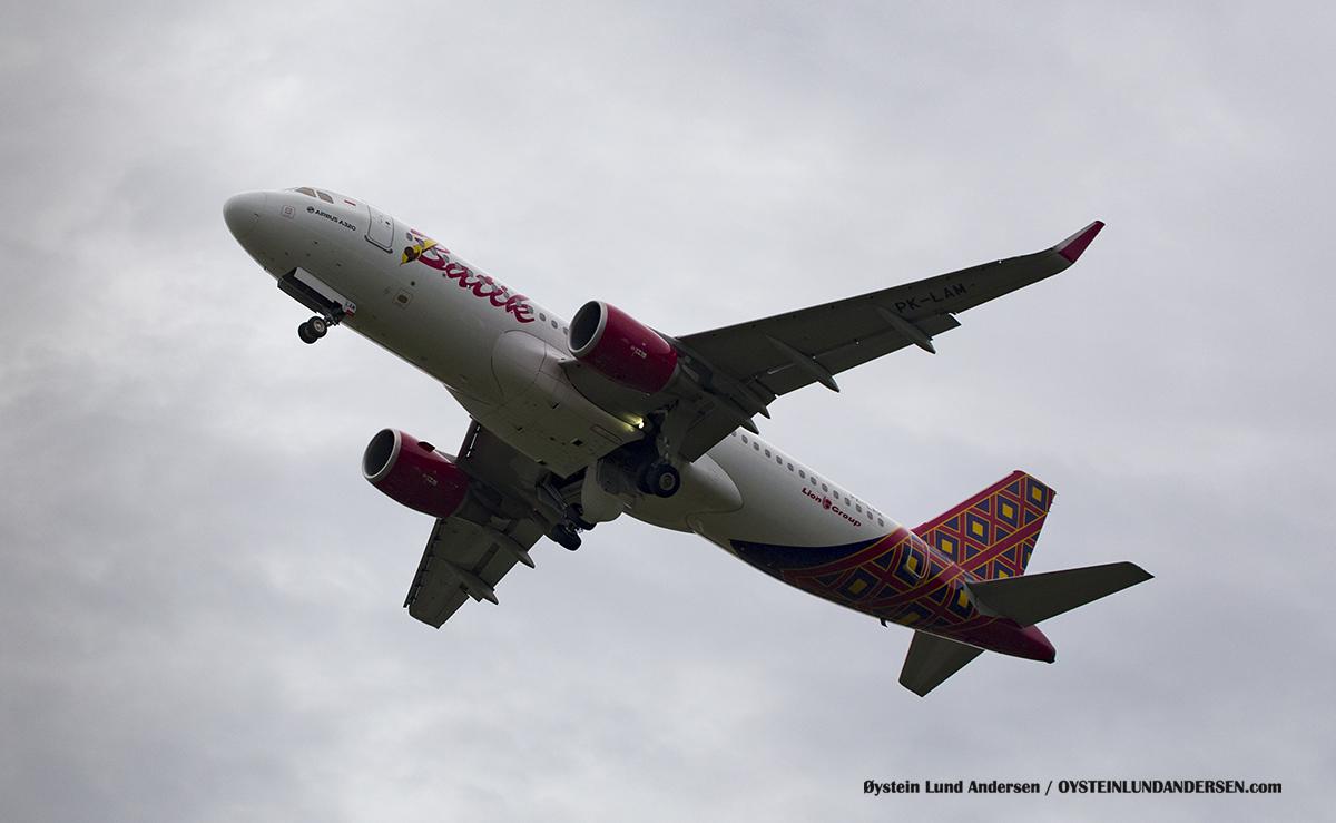 batik-air Airbus-320 pk-lam Halim Airport HLP Jakarta Indonesia Spotting 2016