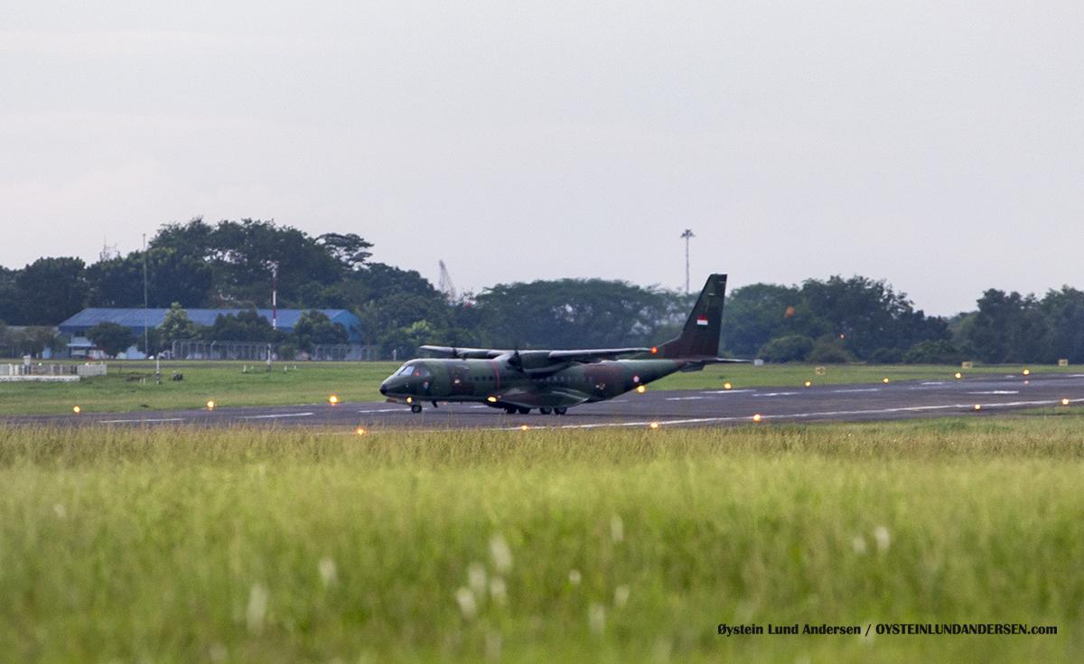 tni-casa-c295 Halim Airport HLP Jakarta Indonesia Spotting 2016