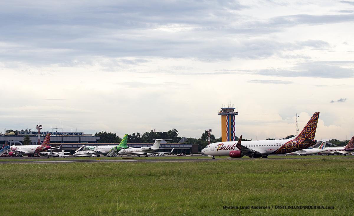 Halim Airport Tarmac HLP Jakarta Indonesia Spotting 2016