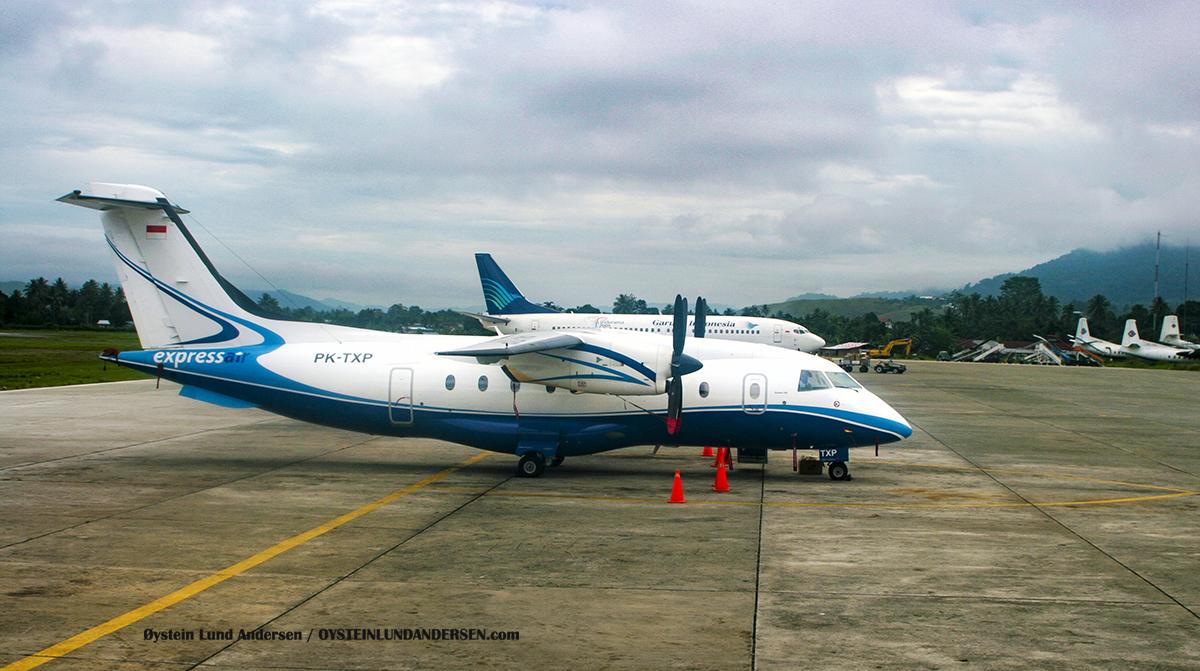 Dornier-328 (PK-TXP) 2009 sentani airport jayapura spotting
