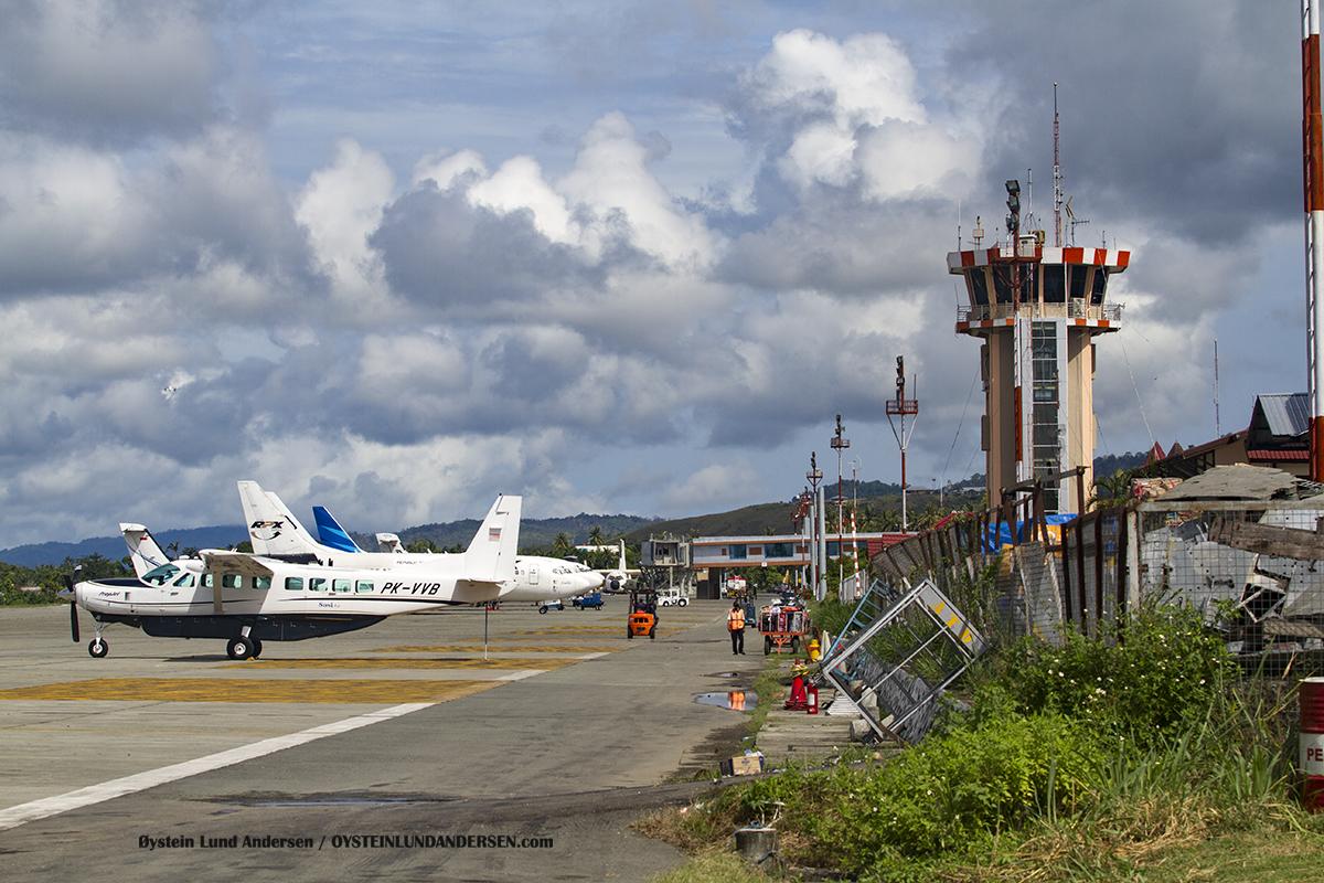 Sentani Airport appron Jayapura Papua