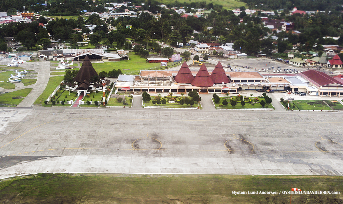 Sentani Airport Aerial Jayapura Papua