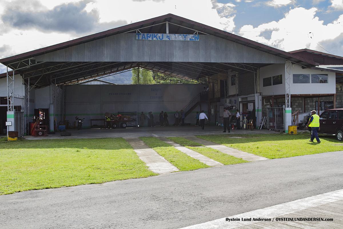 Sentani Airport Jayapura TARIKU Hangar