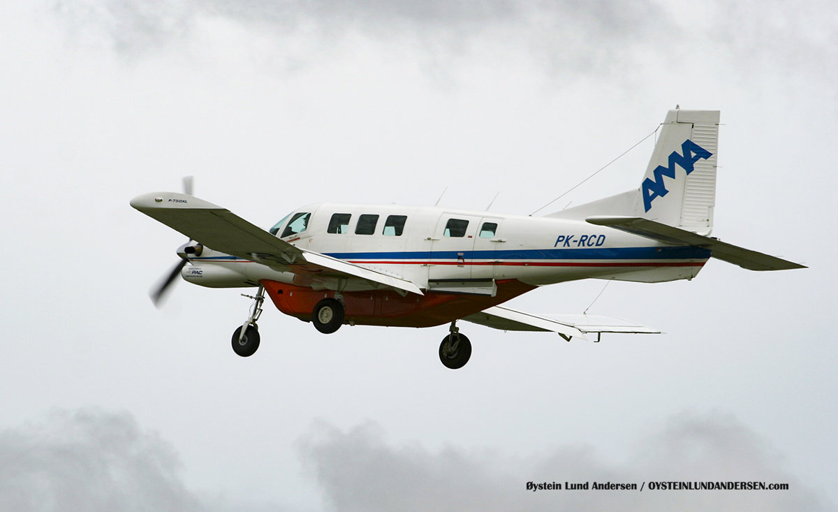 Pacific Aerospace 750XL (PK-RCD) 2010 Wamena WMX AMA Associated Mission Aviation (AMA)
