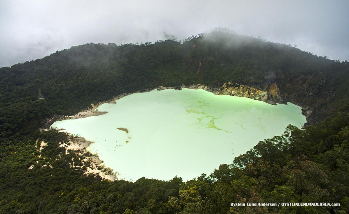 Patua Kawah Putih Bandung Volcano indonesia aerial aerial-photography