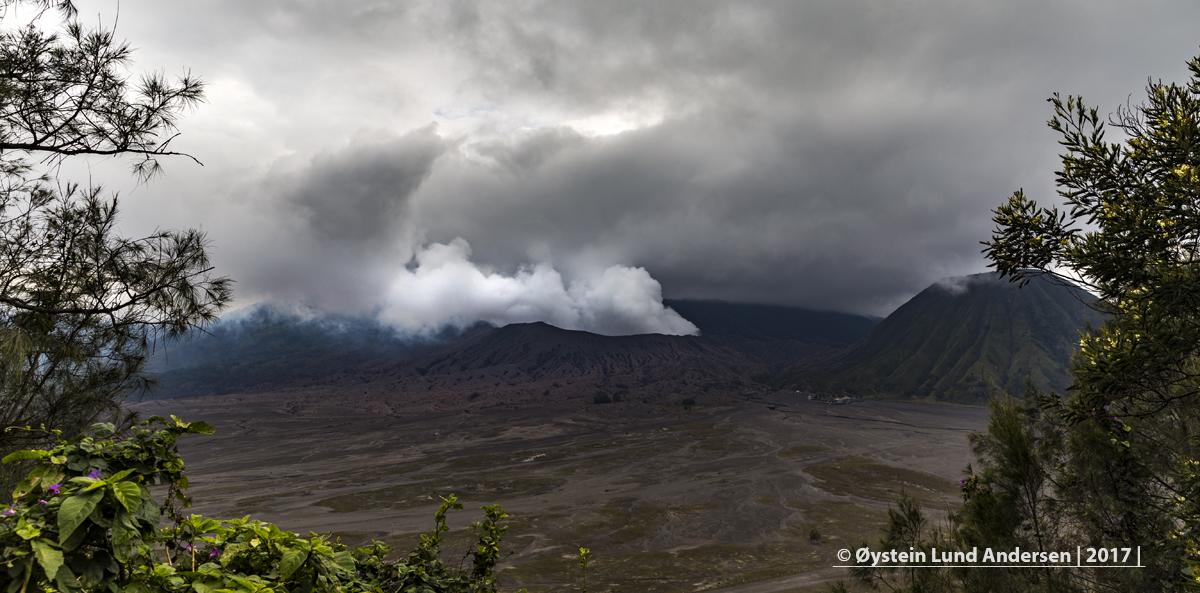 Bromo Volcano Indonesia Java Tengger 2017