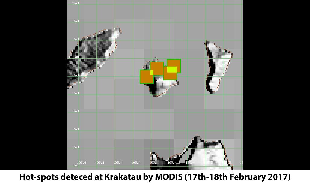 Modis Krakatau eruption february 2017 andersen sunda strait