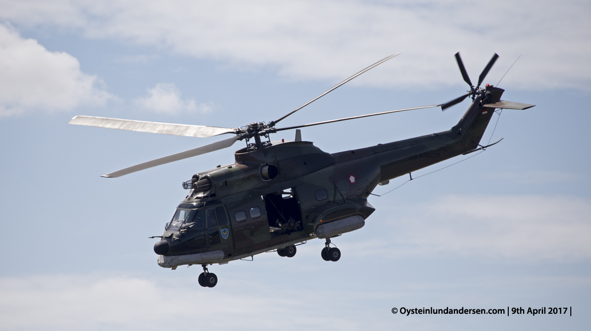 Indonesian Airforce TNI 2017 Halim AS-330 Puma