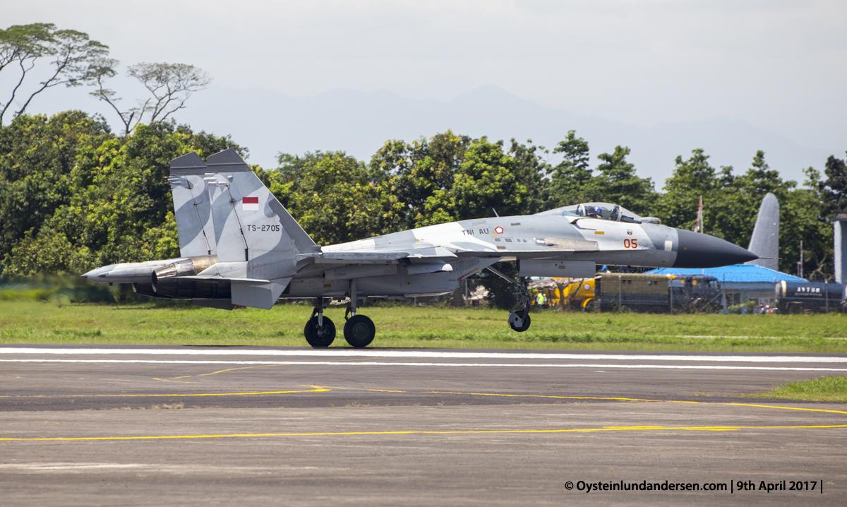 Indonesian Airforce TNI 2017 Halim Sukhoi 27 (TS-2705)