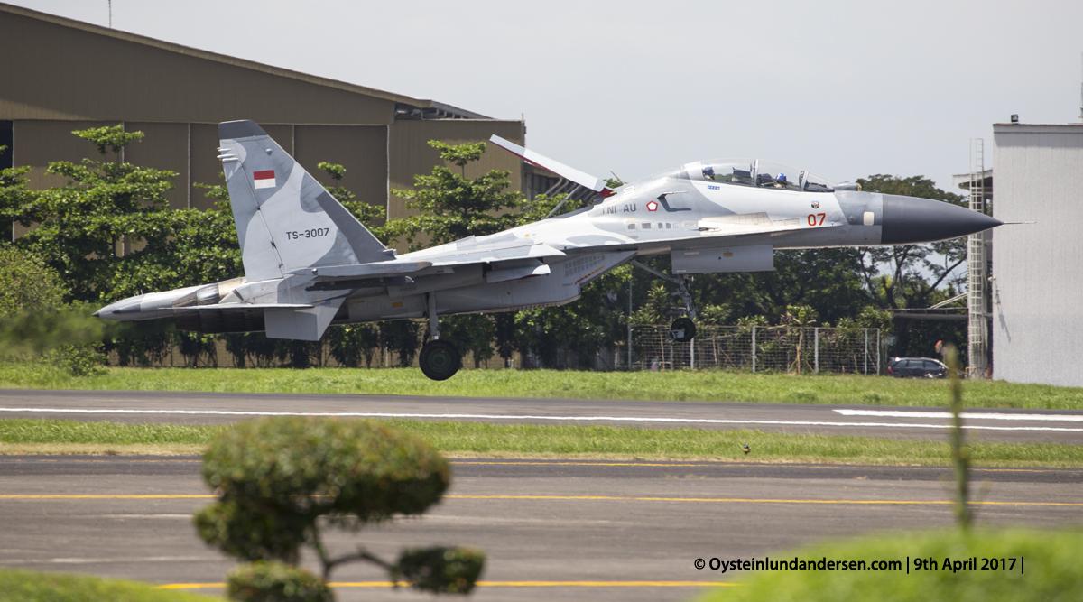 Indonesian Airforce TNI 2017 Halim Sukhoi 30