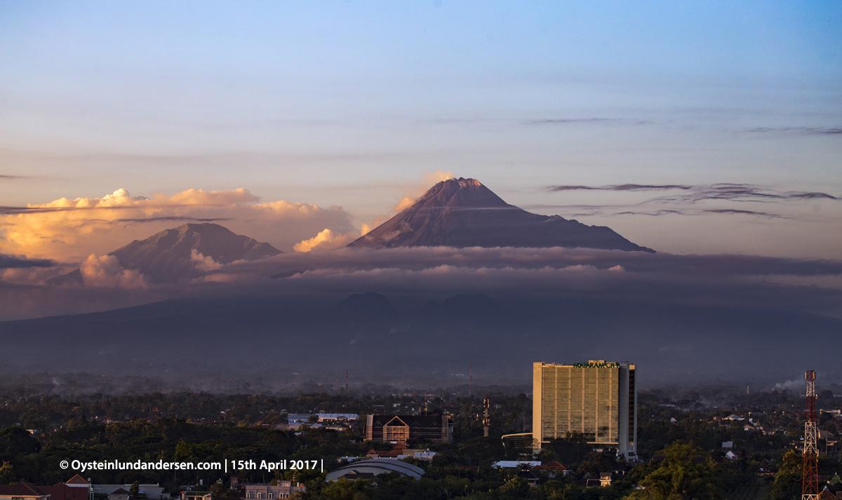 Merapi Volcano Central-Java Yogyakarta 2017 Indonesia
