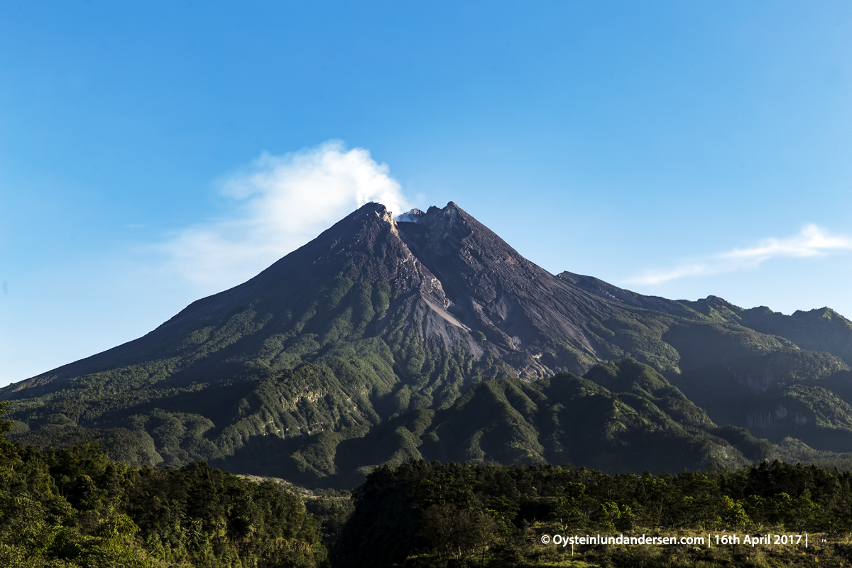 Merapi Volcano Central-Java Yogyakarta 2017