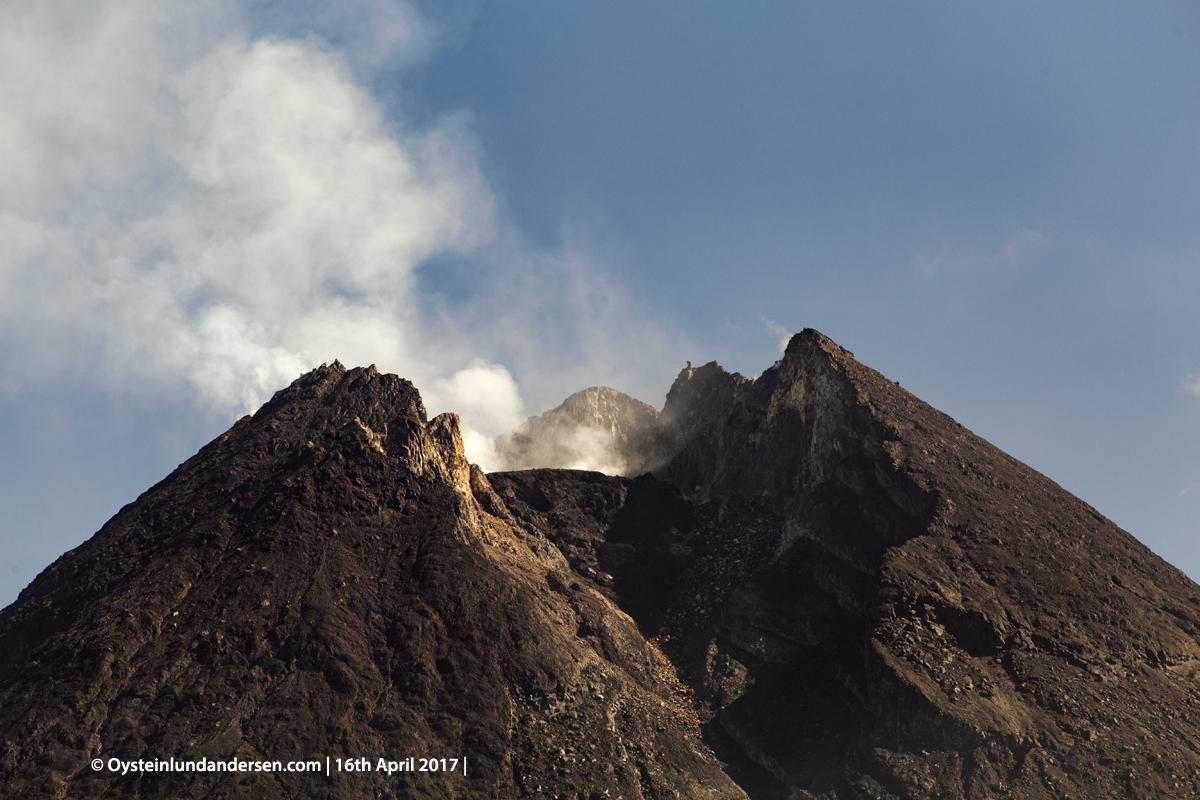 Merapi Volcano Lava-Dome Central-Java Yogyakarta 2017