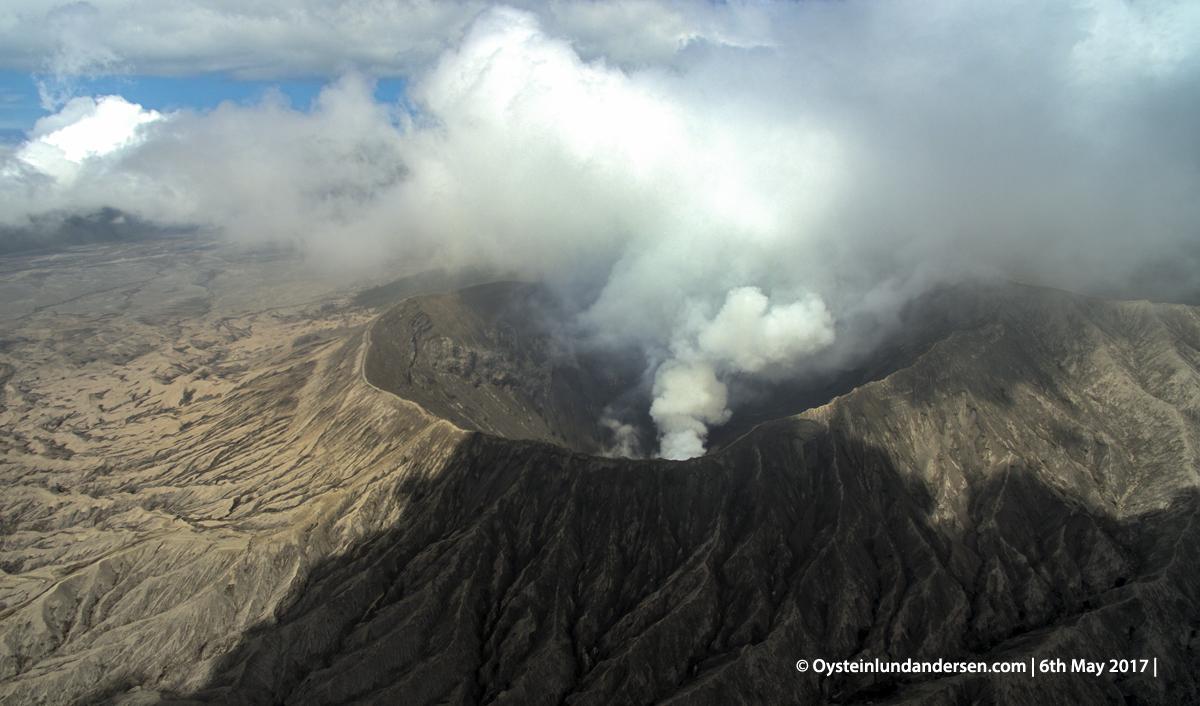 Bromo volcano tengger Indonesia java DJI phantom 2017 aerial