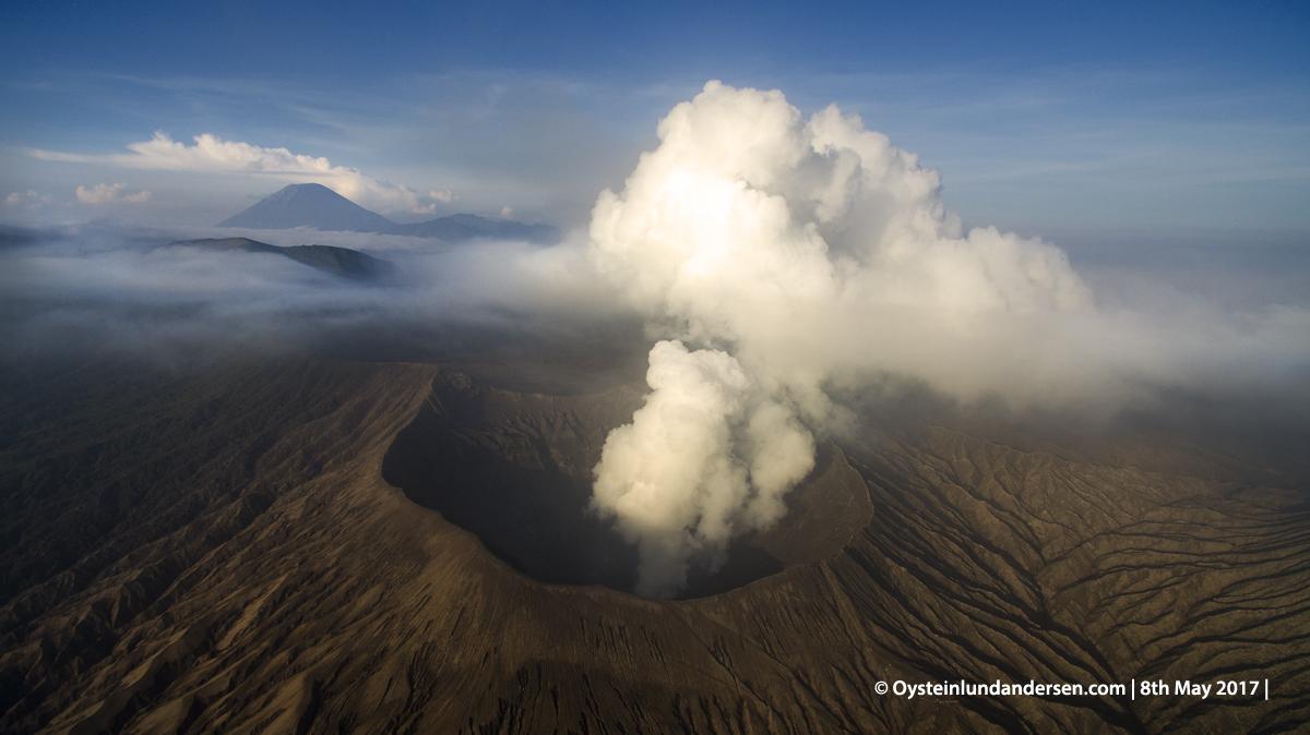 Bromo Semeru volcano tengger Indonesia java DJI phantom 2017 aerial