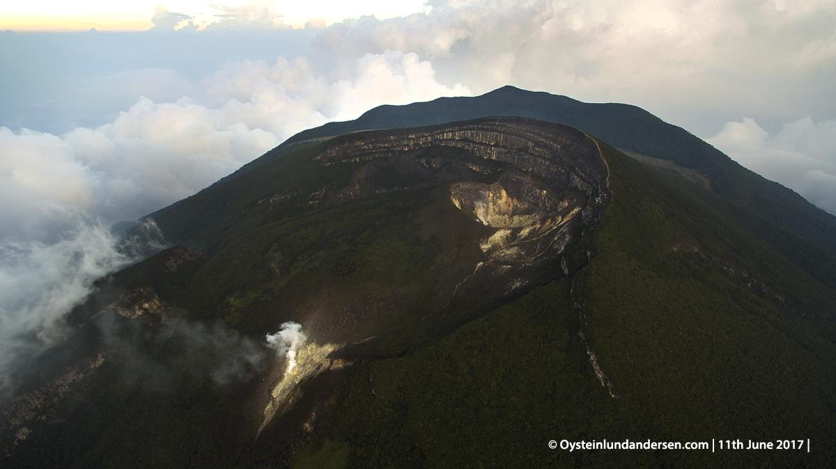 Gede-pangrango volcano crater indonesia gunung-api gede 2017
