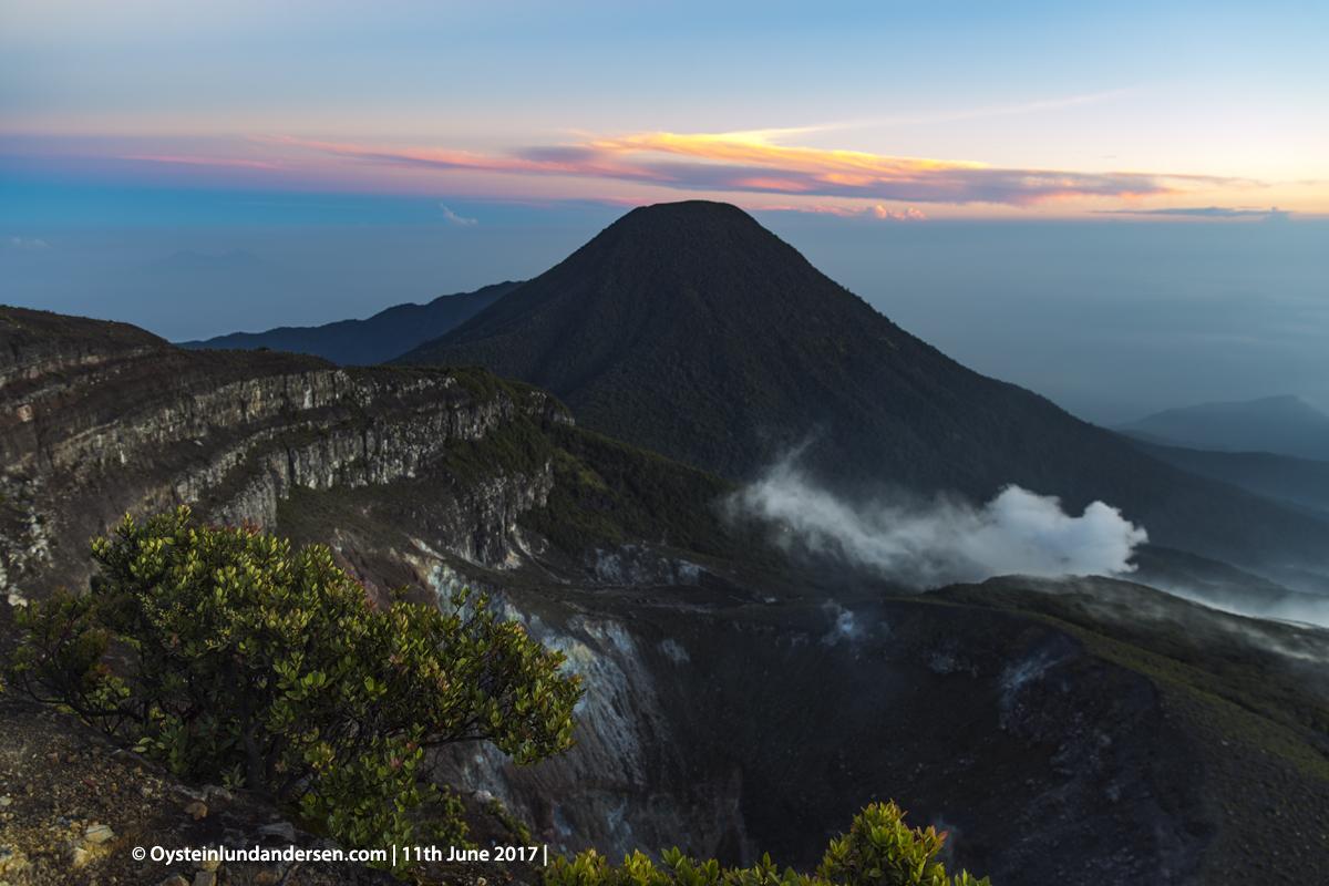 Gede-pangrango volcano indonesia gunung-api gede 2017