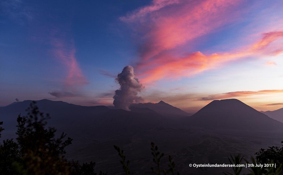 Bromo tengger volcano july 2017